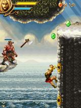 Beowulf: The Mobile Game J2ME An axe thrower