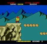 Pac-Land TurboGrafx-16 Hover Logs