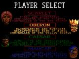 Mega lo Mania Genesis Player select