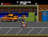 Renegade SEGA Master System A guy gets thrown off his motorcycle