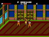 Renegade SEGA Master System Fighting inside an old building