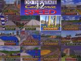 California Speed Arcade Track selection