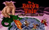The Bard's Tale Construction Set DOS Title screen