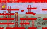 Chuckie Egg Amiga Use ladders to going up or down