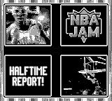 NBA Jam Game Boy The half-time report