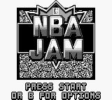 NBA Jam Game Boy Title Screen