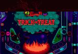 Psycho Pinball Genesis Bottom part of Trick or Treat