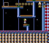 Krusty's Super Fun House Genesis Abstract level