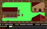 Ys: The Vanished Omens DOS Wandering in the town (EGA/Tandy)