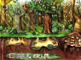 Oscar the Balloonist and the Secrets of the Forest Windows The forest during spring