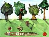 Oscar the Balloonist and the Secrets of the Forest Windows Match the leaves and fruit with the correct tree.
