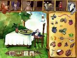 Oscar the Balloonist and the Secrets of the Forest Windows What's for dinner? Match the food.