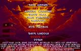Brutal: Paws of Fury DOS Credits screen