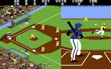 Championship Baseball Commodore 64 And here's the pitch!