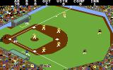 Championship Baseball Commodore 64 Running to first base...