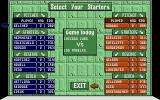 R.B.I. Baseball 2 Amiga Setting up some game options