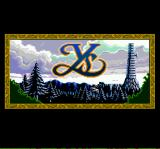 Ys: Book I & II TurboGrafx CD Title Screen