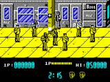 Renegade ZX Spectrum Stage 1 - Subway station