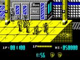 Renegade ZX Spectrum One of muggers falling down to hell