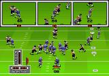 John Madden Football '93 Genesis The camera shows everything