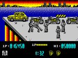 Renegade ZX Spectrum Fighting with two bikers is pretty hard