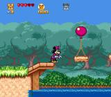 The Great Circus Mystery starring Mickey & Minnie Genesis Jumping with balloons