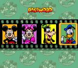 The Great Circus Mystery starring Mickey & Minnie Genesis Password screen