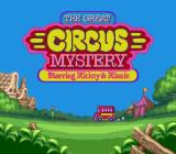 The Great Circus Mystery starring Mickey & Minnie Genesis Title screen
