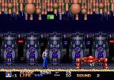 Rolling Thunder 3 Genesis Fighting a robot boss