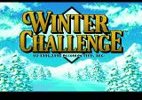 The Games: Winter Challenge Genesis Title screen