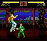 Fatal Fury Genesis Fighting in a house