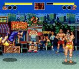 Fatal Fury Genesis Fighting outside