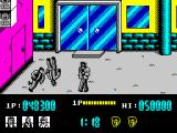 Renegade ZX Spectrum Knocked out enemy can be thrown away