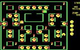 Super Pac-Man DOS Pac-Man navigating the maze... (CGA)