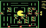 Super Pac-Man DOS It's Super Pac-Man! You can eat ghosts when they've changed color (CGA)