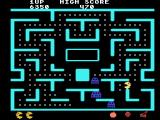Ms. Pac-Man TI-99/4A You can eat the ghosts when they are blue
