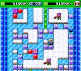 Bomberman '93 TurboGrafx-16 Planet Icicle