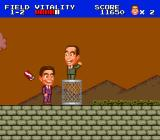 "J.J. & Jeff TurboGrafx-16 ""Ken, we're supposed to be partners. Stop throwing stuff at me or I'll tell the boss."""