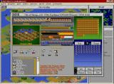 Sid Meier's Civilization II Windows standard city view - the capital