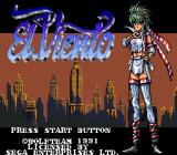 El Viento Genesis Title screen