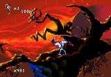 Earthworm Jim 2 Genesis Starting level