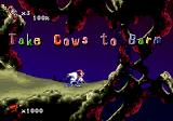 Earthworm Jim 2 Genesis Mission is clear...