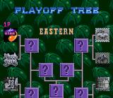Double Dribble: The Playoff Edition Genesis Playoff tree