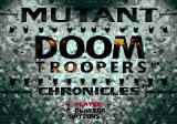 Doom Troopers: Mutant Chronicles Genesis Title screen