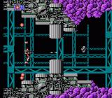 S.C.A.T.: Special Cybernetic Attack Team NES Shoot the grey capsules to collect bonuses