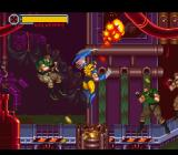 X-Men: Mutant Apocalypse SNES Wolverine slashing his way through his opponents