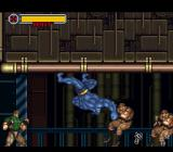 X-Men: Mutant Apocalypse SNES Beast is the strongest character and the only one who can walk on the ceiling.