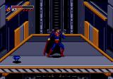 The Death and Return of Superman Genesis Riding a descending platform