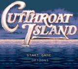 Cutthroat Island Genesis Title screen