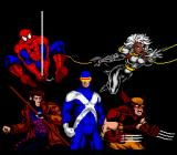 Spider-Man X-Men: Arcade's Revenge SNES Opening screen